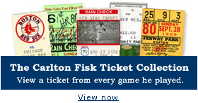The Carlton Fisk Ticket Collection